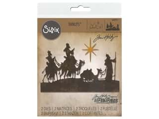 Clearance: Sizzix Dies Tim Holtz Thinlits Wise Men