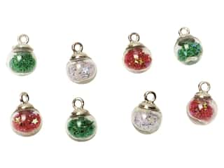 craft & hobbies: Jesse James Embellishments Bubble Ball Small Christmas Ornaments