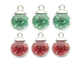 Jesse James Embellishments Bubble Ball Christmas Ornaments Traditional