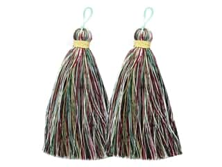 scrapbooking & paper crafts: Jesse James Embellishments Tassels Large Christmas