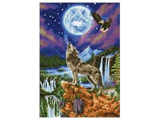 craft & hobbies: Diamond Dotz Advanced Kit - Mystic Wolf