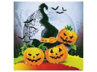 diamond dotz: Diamond Dotz Intermediate Kit - Halloween Magic