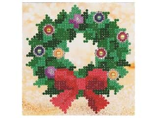 craft & hobbies: Diamond Dotz Beginner Kit - Christmas Wreath