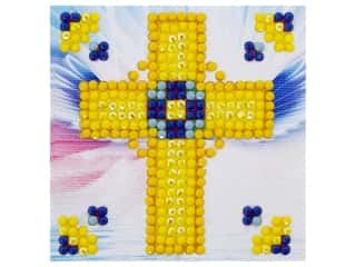 craft & hobbies: Diamond Dotz Starter Kit - Golden Cross
