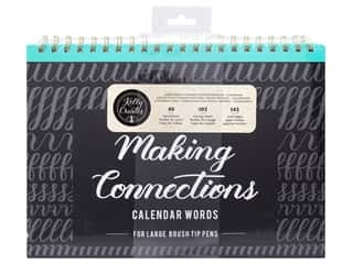 Clearance: American Crafts Collection Kelly Creates Workbook Making Connections Calendar Words For Large Pen