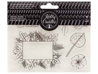 American Crafts Collection Kelly Creates Stamp Tropical