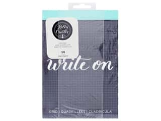 American Crafts Collection Kelly Creates Paper Pad 5.75 in. x 8 in. Grid