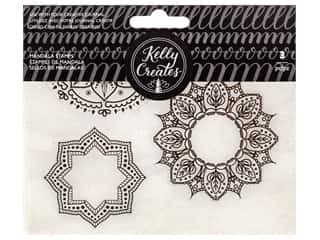 scrapbooking & paper crafts: American Crafts Collection Kelly Creates Stamp Mandala