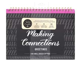 Clearance: American Crafts Collection Kelly Creates Workbook Making Connections Greeting Small Pen