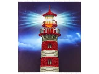 beading & jewelry making supplies: Diamond Art Kit 14 x 16 in. Light House