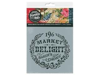craft & hobbies: Cathe Holden Inspired Barn Stencil 6 x 6 in. Delight