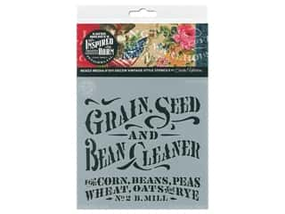 craft & hobbies: Cathe Holden Inspired Barn Stencil 6 x 6 in. Grain