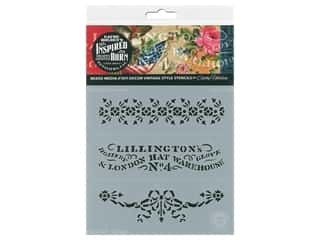 craft & hobbies: Cathe Holden Inspired Barn Stencil 6 x 6 in. Lillington