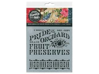 craft & hobbies: Cathe Holden Inspired Barn Stencil 6 x 6 in. Orchard