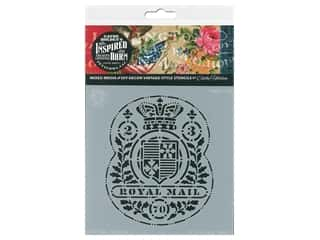 craft & hobbies: Cathe Holden Inspired Barn Stencil 6 x 6 in. Royal Mail