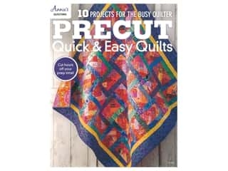 Annie's Precut Quick & Easy Quilts Book