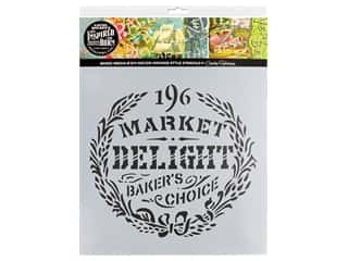 craft & hobbies: Cathe Holden Inspired Barn Stencil 12 x 12 in. Delight