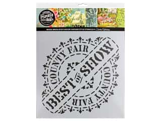 craft & hobbies: Cathe Holden Inspired Barn Stencil 12 x 12 in. Best Of Show