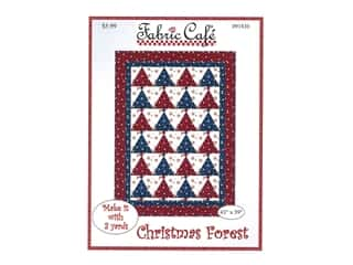 books & patterns: Fabric Cafe Christmas Forest Pattern