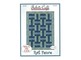 Fabric Cafe Rail Fence Pattern