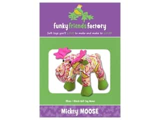 Funky Friends Factory Mickey Moose Pattern