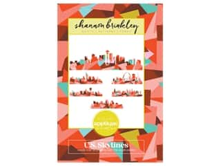 Shannon Brinkley Studio U.S. Skyline Pattern