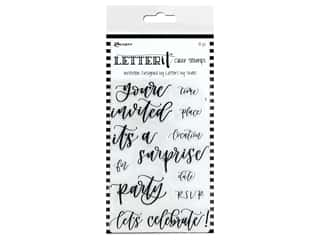 invited stamp: Ranger Letter It Stamp Set - Invitation