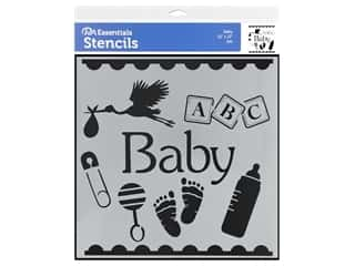 PA Essentials Stencil 12 x 12 in. Baby