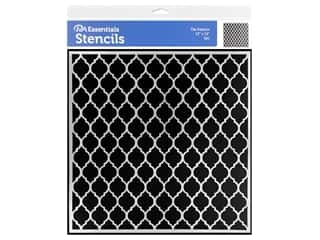 craft & hobbies: PA Essentials Stencil 12 x 12 in. Tile Pattern