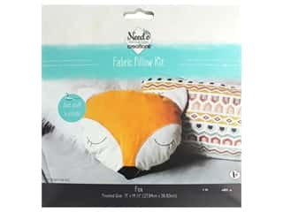Needle Creations Kit Pillow Fox
