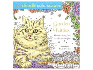 books & patterns: St Martin's Griffin Zendoodle Garden Kitties Coloring Book