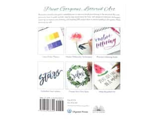 scrapbooking & paper crafts: Ulysses Press Watercolor Lettering Book