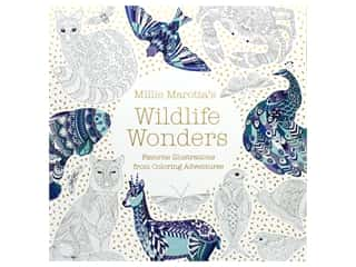 books & patterns: Millie Marotta's Wildlife Wonders Coloring Book