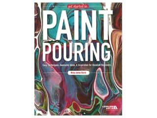 books & patterns: Leisure Arts Get Started In Paint Pouring Book