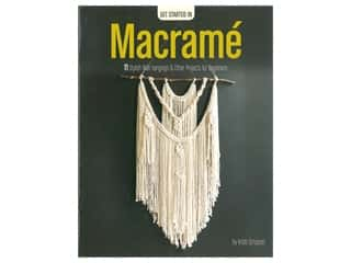 books & patterns: Leisure Arts Get Started In Macrame Book