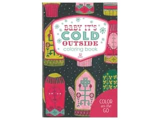 books & patterns: Leisure Arts Baby It's Cold Outside Coloring Book