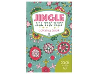 books & patterns: Leisure Arts Jingle All The Way Coloring Book