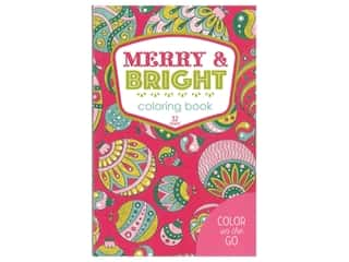 books & patterns: Leisure Arts Merry & Bright Coloring Book