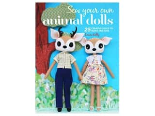 Cico Sew Your Own Animal Dolls Book