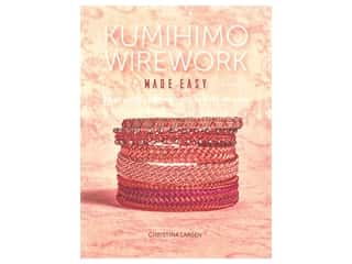 beading & jewelry making supplies: Interweave Press Kumihimo Wirework Made Easy Book