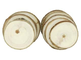 Sierra Pacific Crafts Wood Slice Round 2.75 in. Natural