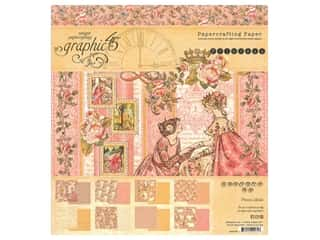 Graphic 45 Collection Princess Paper Pad 8 in. x 8 in.