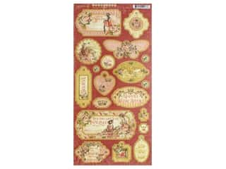 Graphic 45 Collection Princess Chipboard