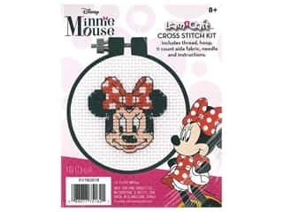 Dimensions Cross Stitch Kit Learn A Craft 3 in. Minnie