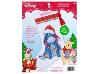 yarn & needlework: Dimensions Counted Cross Stitch Kit Eeyore Stocking
