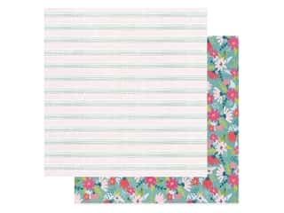American Crafts Collection Dear Lizzy New Day Paper 12 in. x 12 in. Stay Humble (25 pieces)