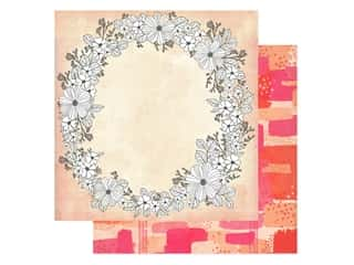 American Crafts Collection Vicki Boutin Field Notes Paper 12 in. x 12 in. Choose To Shine (25 pieces)