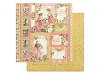 Graphic 45 Collection Princess Paper 12 in. x 12 in. Beautiful Maiden (25 pieces)