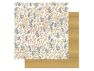 American Crafts Collection One Canoe Two Goldenrod Paper 12 in. x 12 in. Meadow Floral (25 pieces)