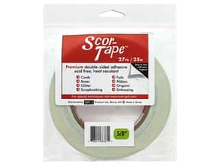 Scor-Pal Scor-Tape Double Sided Adhesive 5/8 in. x 27 yd.